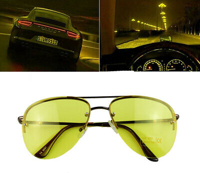 Night Sight Driving Glasses HD Sunglasses Polarized Anti Glare Night Vision
