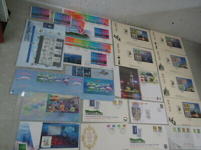 Nystamps British Hong Kong many mint stamp & Cover & souvenir sheet collection