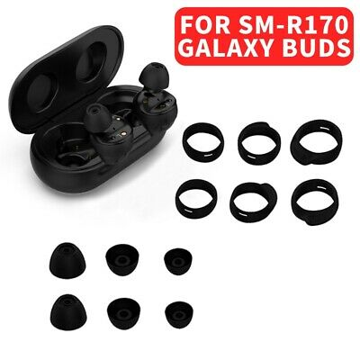 Replacement Eartips Earhooks Silicone Earbuds for Galaxy Buds SM-R170 Headphones