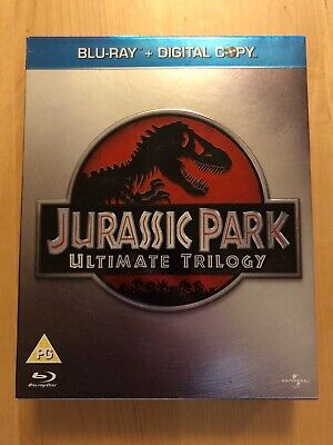 Jurassic Park: Ultimate Trilogy Collection Blu-ray Digital Codes Not Included
