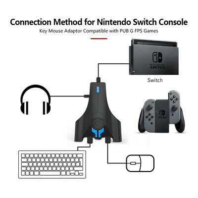 Wired Keyboard Mouse Converter Adapter For Nintendo Switch/Xbox One/PS3 Console