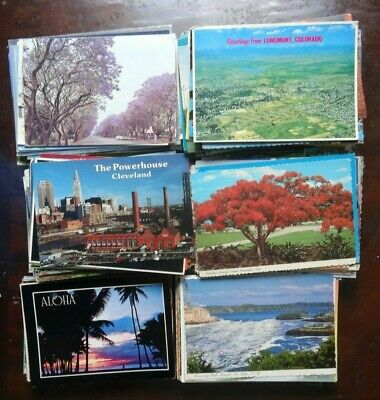 Lot Of 50 + Vintage Postcards ***  Large  & Small  Arts & Crafts Cards