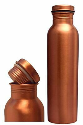 Hand Hammered 100/% PURE COPPER Water Bottle Ayurveda Yoga Free Shipping 950 ml