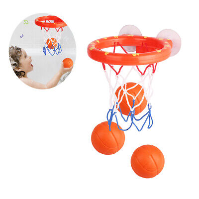 Baby Bath Toys Mini Basketball Play Set Suction Cup Shooting Game for Kids