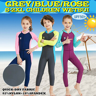 Boys Girls Childs Full Winter Wetsuit Kids Long Junior Wet Suit Surf Diving Swim