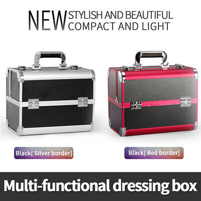 Make Up Box Makeup Case Extra Large Space Storage Nail Jewelry Cosmetic Beauty