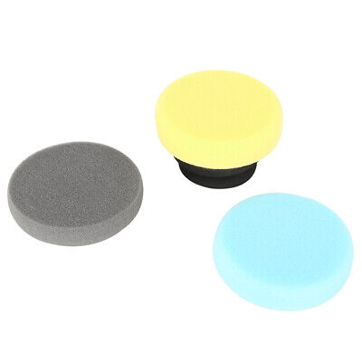 4 in 1 Car Cleaning Waxing Sponge Polish Pad with Handle Car Care Supplies Kit