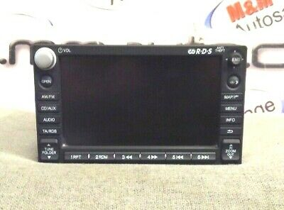 Honda Cr-V Crv Mk3 2006-2012 Sat Nav Unit Navigation Head Unit 39541-Swa-E060-M1