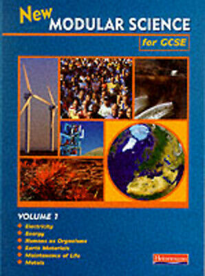 New modular science for GCSE. Vol. 1 : electricity, energy, humans as