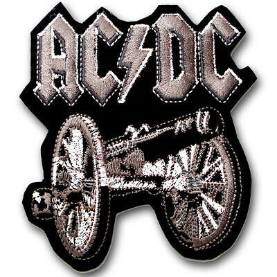 M Size ACDC  Patch Embroidered Rock Heavy Metal Band Applique Emblem HELLS BELLS