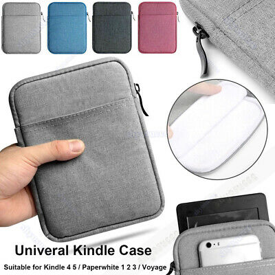 """For Amazon Kindle Paperwhite 10th Gen 2019 Denim Carry Sleeve Pouch Bag Case 6"""""""