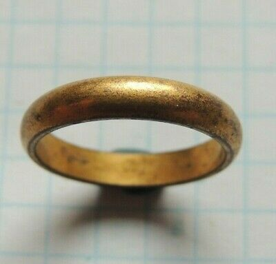 19th Century Gold Plated Wedding Ring