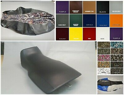 25 Colors Polaris SPORTSMAN 570 Seat Cover in BLACK or 3-TONE OPTIONS 2-TONE