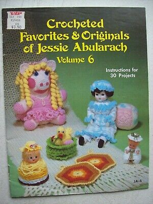 Crocheted Favorites Originals Jessie Abularach Vol 7 45 Projects Pattern Leaflet