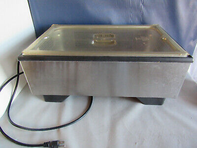 Vollrath 1001 Food Warmer Serving Catering Buffet Stainless Tray Insert & Lid