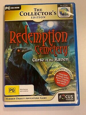 Redemption Cemetery - Curse Of The Raven Game - PC Hidden Object Mystery Puzzle