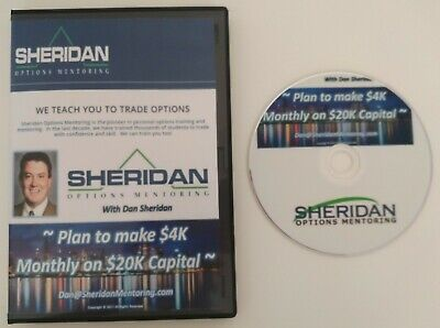 A PLAN TO MAKE $4K MONTHLY ON $20K CAPITAL DAN SHERIDAN  DVD + Download Access