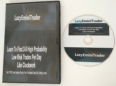 NEW LAZY EMINI TRADER ($347) - Physical Copy + Download Version Access - 7 Hours
