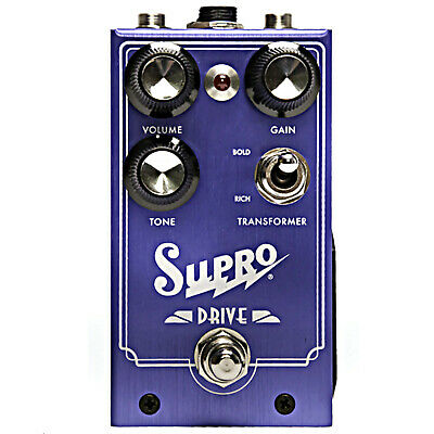 Supro 1305 Drive Guitar Effects Pedal 2019 Overdrive