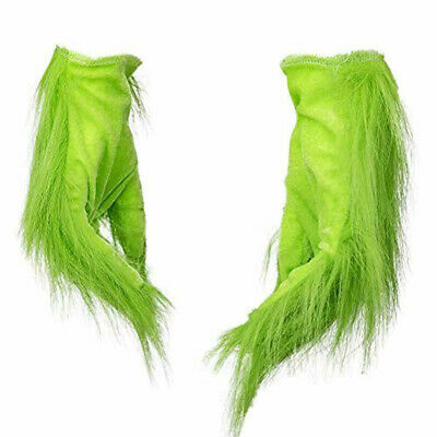 Grinch Plush Glove Christmas Halloween Deluxe Party Cosplay Props XMAS Gloves