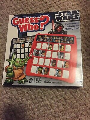 Star Wars Edition Guess Who? Game by Hasbro - 2012 Edition New