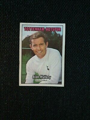 -#073- TOTTENHAM SPURS ALAN MULLERY M134 SUN-FOOTBALL SWAP CARDS