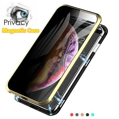 360° Shockproof Tempered Glass Case Privacy Anti Spy Cover for iPhone 11 Pro XS
