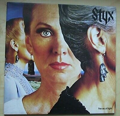 STYX PIECES OF EIGHT LP 1978 G/FOLD COVER WITH INNER SLEEVE - light signs of use