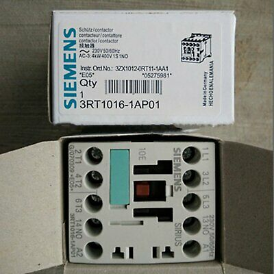 1PC New In Box Siemens Contactor 3RT1016-1AP01 3RT10161AP01 free shipping