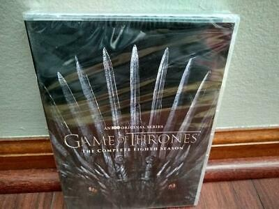 Game of Thrones: Complete Season 8 (4-Disc DVD, 2019) - BRAND NEW / SEALED
