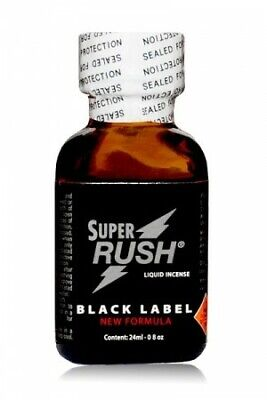 Poppers Super Rush Black Label 24 ml Poppers - Sexshop