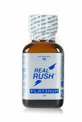 Poppers real rush platinum 24ml Poppers - Sexshop