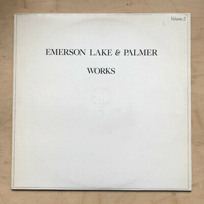 EMERSON, LAKE AND PALMER WORKS - VOLUME 2 LP 1977 - clean copy UK