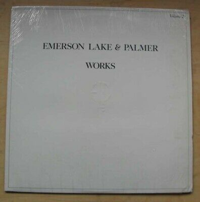 EMERSON, LAKE AND PALMER WORKS - VOLUME 2 LP 1977 - nice clean copy USA
