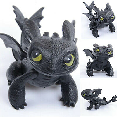 How to Train Your Dragon Toothless Night Fury Action Figures Kids PVC Toys Gifts