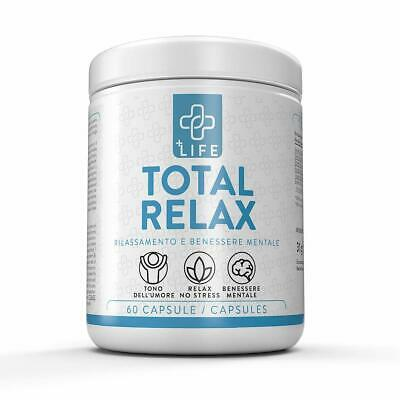 +Life Totale Relax 60 Capsule Concentrate Antistress Naturale Aiuta A