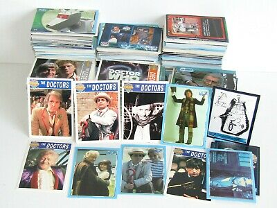 50 x Doctor Who Trading Card Bundle ~ Cornerstone ~ Definitive ~ Doctors 1-8