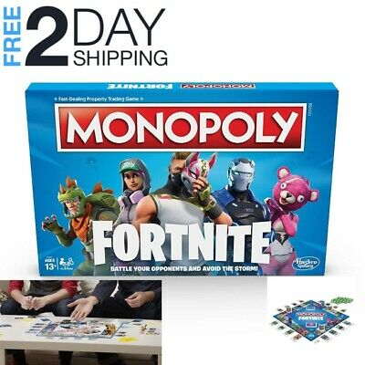 Monopoly Fortnite Edition Board Game Inspired By Fortnite Video Game Ages 13