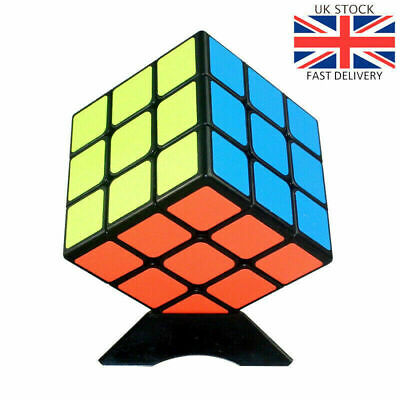 Kids Rubik's Cube Fun Original Toy Rubic Magic Mind Game Classic Rubix Puzzle
