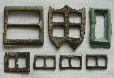 Lot 7  Ancient Bronze Viking Buckles