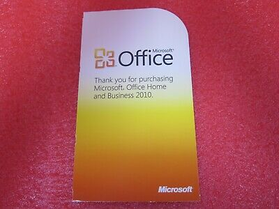Lot of 5 Office 2010 Home & Business Product Key - Authentic, Genuine.