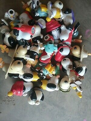 SNOOPY  COLLECTION... McDONALDS  VINTAGE PROMOTIONAL  TOYS