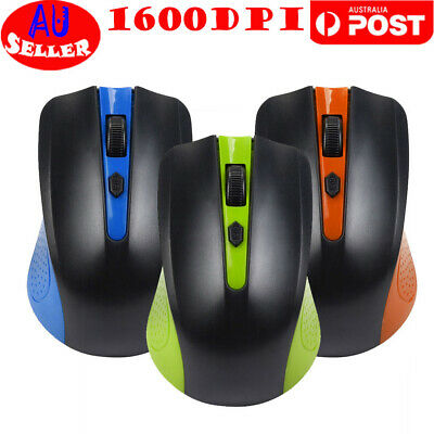 1600 DPI USB Wired Mouse Optical Gaming Mouse Mice For PC Laptop Gamer AU Stock