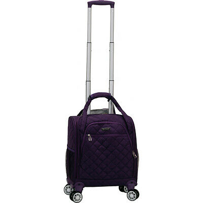 Rockland Luggage Melrose Wheeled Underseat Carry-On Softside Carry-On NEW