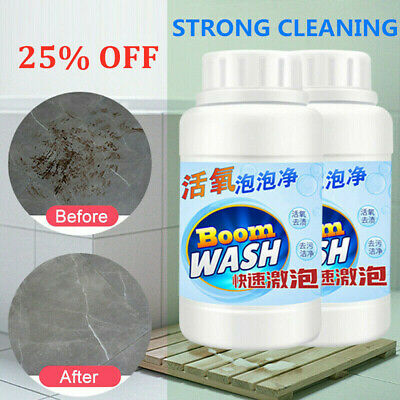 Home Toilet Cleaner Sink Floor Tile Cleaning Bubble Detergent Powder Cleanser