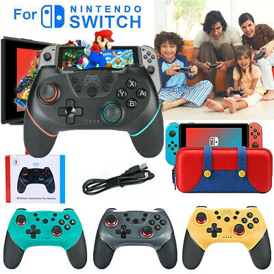 Bluetooth Wireless Gamepad Joystick Pro Controller/Carry Bag For Nintendo Switch