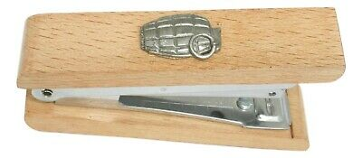 Grenade Wooden Stapler Office Stationary Military Gift 163