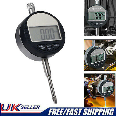 Digital Test Tool DTI 0.01mm/.0005''Range 0-25.4mm/1''Dial Probe Indicator Gauge