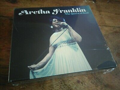 Aretha Franklin The Queen Of Soul 4xCD Boxset New 87 Tracks