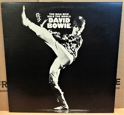 David Bowie The Man Who Sold The World Uk Stereo Rca Victor Lp Lsp 4816 Insert